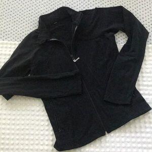 Black Lululemon Zip Jacket